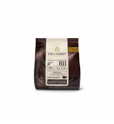 Chocolate Belga Semi-Amargo 54% 400g