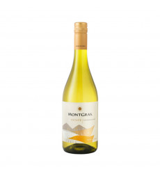 Vino Blanco Montgrass Estate Chardonnay 750cc